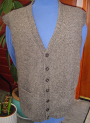 button up vest